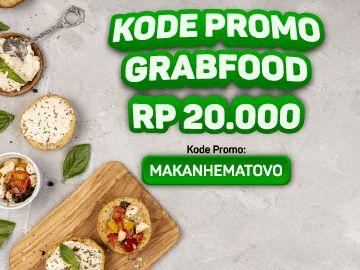 Kode promo GrabFood x OVO delivery makanan diskon Rp 20.000